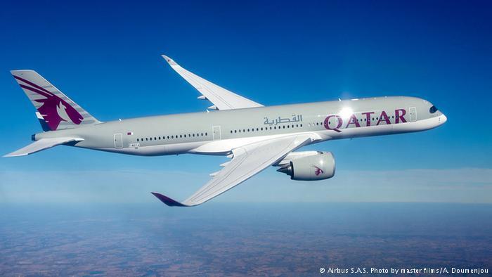 Qatar Airways –que vuela al menos a 15 Estados de EE. UU.− estaría admitiendo nuevamente en sus vuelos a ciudadanos y refugiados de los países afectados. (Airbus S.A.S. Photo by master films/A. Doumenjou)