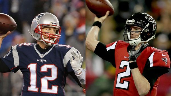 Tom Brady y Matt Ryan