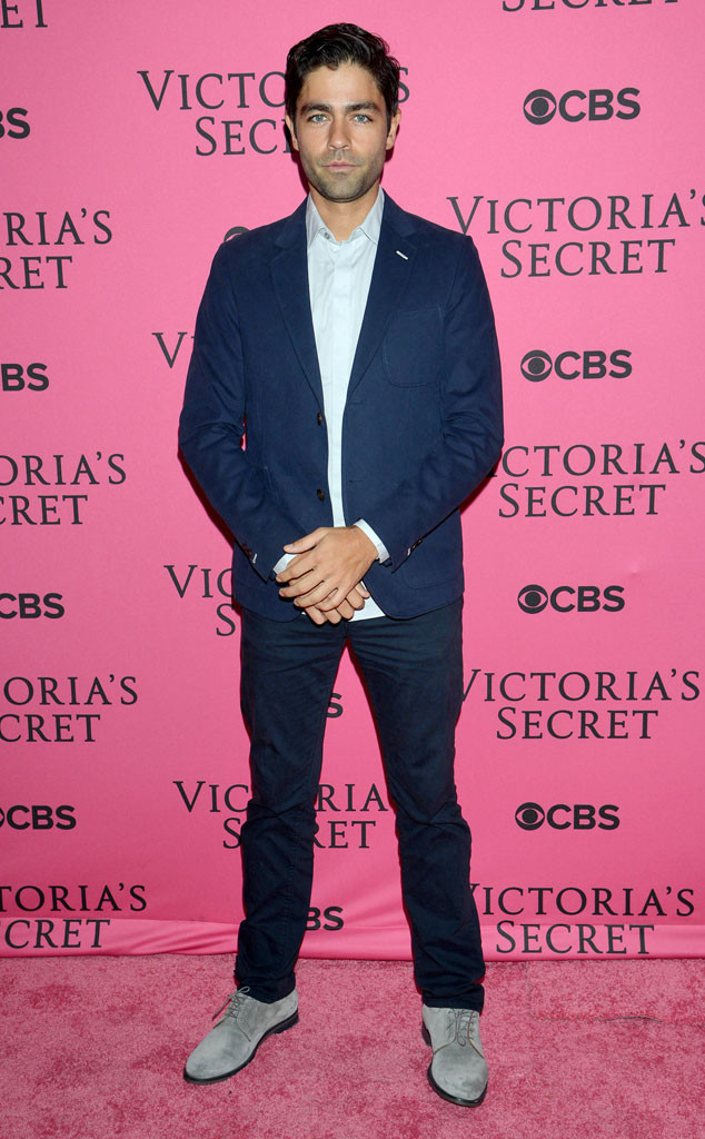 Adrian Grenier, Victorias Secret Fashion Show Pink Carpet