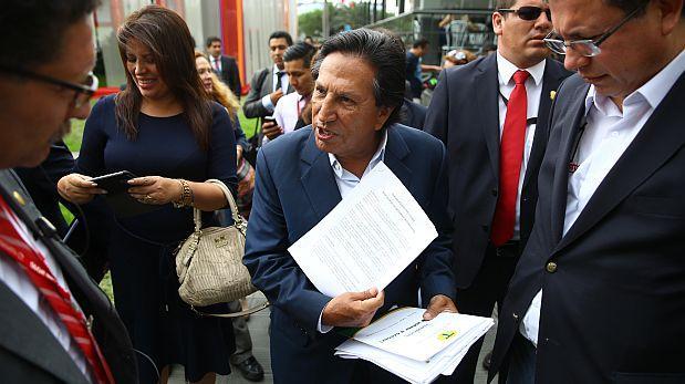 Fiscalía pide prisión preventiva contra Alejandro Toledo