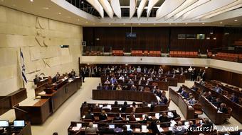 Israel Siedlungspolitik Abstimmung im Parlament (Reuters/A. Awad)
