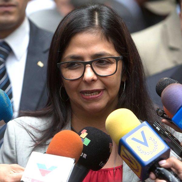 La canciller venezolana, Delcy Rodrigeuz