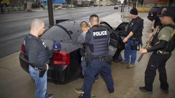 Cientos de inmigrantes fueron detenidos en Estados Unidos (Reuters)