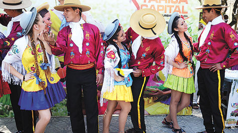 Fiesta. Fotografía tomada durante el Jueves de Comadres de 2016.