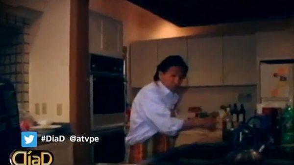 Toledo, cocinando en su casa de los EEUU