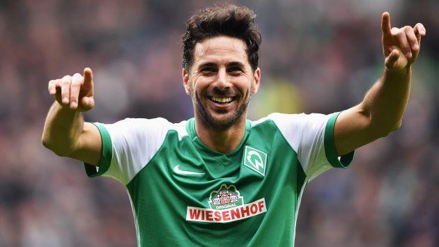Resultado de imagen para Claudio Pizarro y su historia de amor con el Werder Bremen