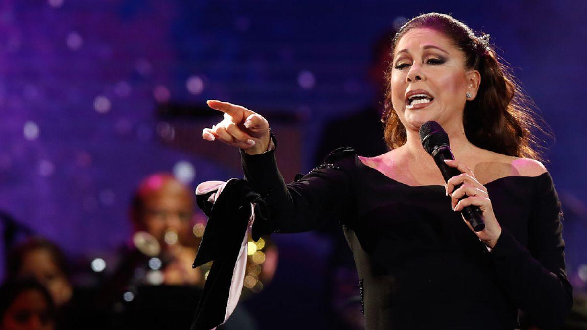Isabel Pantoja se enoja con famosos de la primera fila de Viña: "A una artista se le respeta"