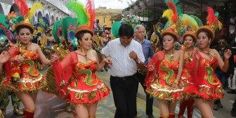 Gobierno boliviano dispone horario continuo para el viernes y feriado nacional el 27 y 28 de febrero por Carnaval