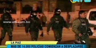 Despliegan a más de 14 mil policías por el Carnaval