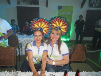Elizángela Flores y Liliana Álvarez
