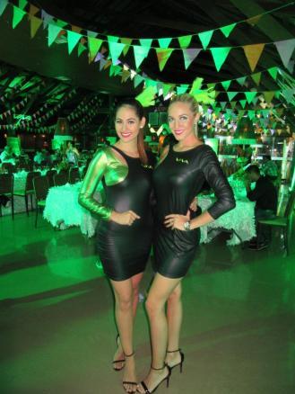 Fernanda Flores y María Claudia Velasco