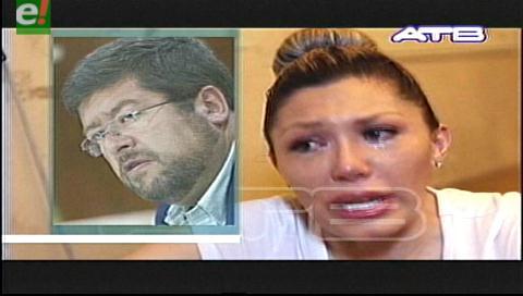 Zapata acusa a Doria Medina de utilizarla políticamente