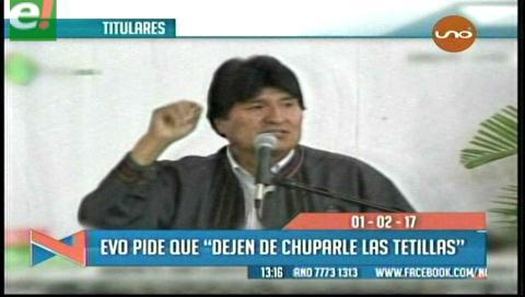 Video titulares de noticias de TV – Bolivia, mediodía del miércoles 1 de febrero de 2017