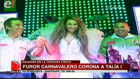 Talia Vargas ya reina a Furor Carnavalero
