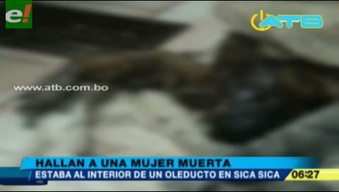 Hallan sin vida y con el cuerpo quemado a una mujer en Sica Sica