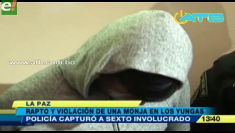 Capturan al último implicado del secuestro y violación a una religiosa