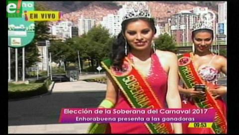 La Paz eligió a su reina del carnaval 2017
