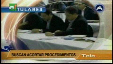 Video titulares de noticias de TV – Bolivia, noche del miércoles 1 de febrero de 2017