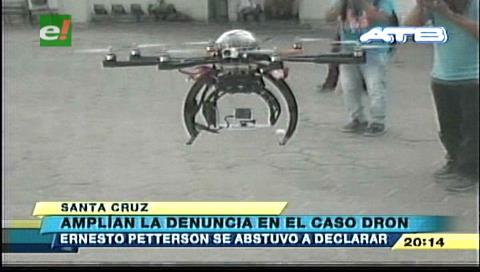Amplían denuncia por el caso dron