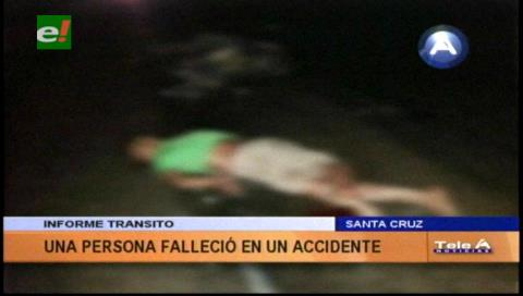 Estaba ebrio: Motociclista muere en accidente en Yapacaní