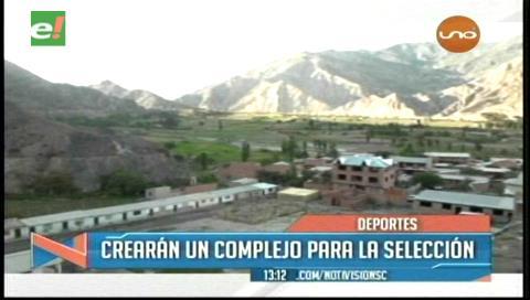 La Federación Boliviana de Fútbol tendrá sede propia en Mecapaca