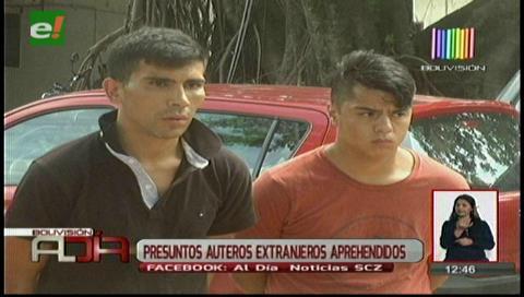 Santa Cruz: Detienen a un chileno y un argentino por desmantelar y robar vehículos