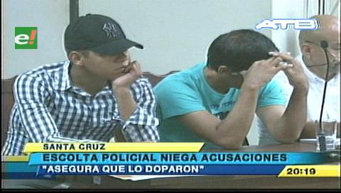 Policía implicado en robos y secuestros fue enviado a Palmasola