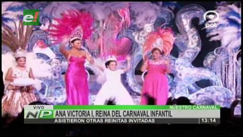 Coronan a la Reina del Carnaval Infantil 2017