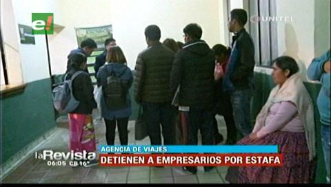 La Paz: 18 personas se querellan por estafa contra la agencia de viajes Paitití