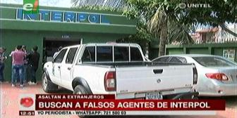 La Policía busca a dos falsos agentes de Interpol que asaltan a extranjeros