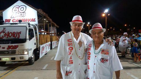 Vicente Cuellar y Luis Perrogon