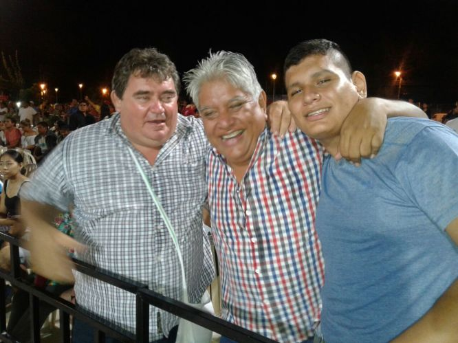 Alfredo Cabrera, Enrique Lopez y Juan Pablo Lopez