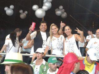José Pomacusi, Jimena Antelo y Angélica Mérida