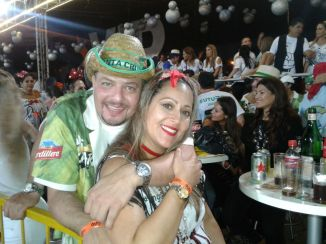 Tarek Abou y Patricia Osuna