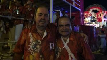 Pedro Yovhio y Rony Colanzi, Haraganes de corazón