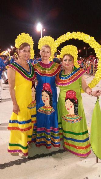 Circulo de la Amistad: Sonia Velasco, Lenny Chavez y Marina Vargas