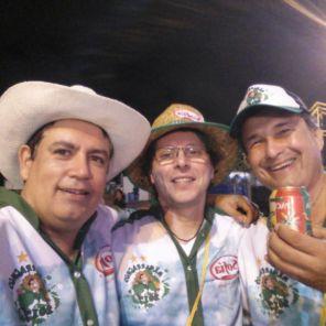 Toño Cerda, Teco Rojas y Nani Zankiz