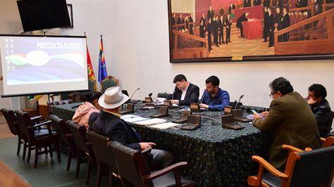 Miembros de la Comisión Papeles de Panamá