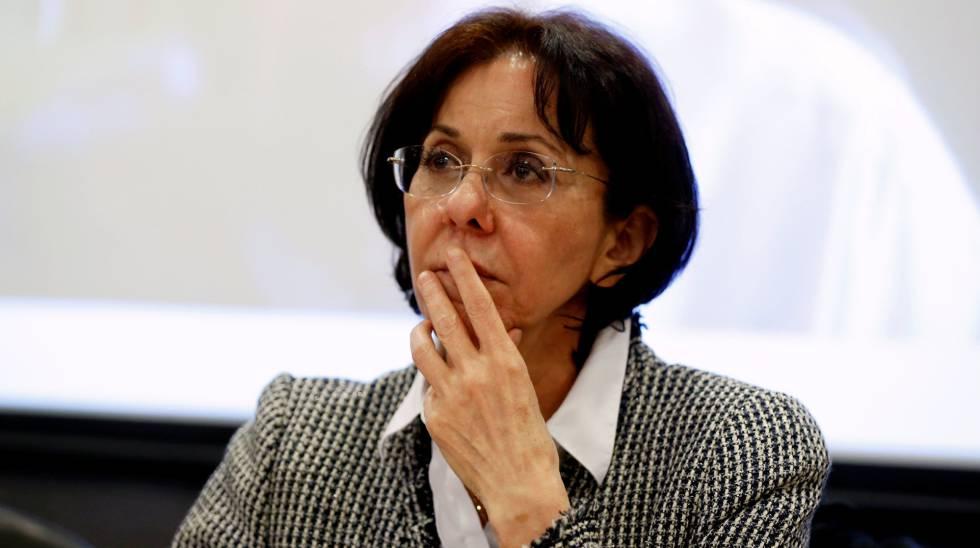 La responsable de la Comisión Económica y Social para Asia Occidental de la ONU Rima Jalaf.