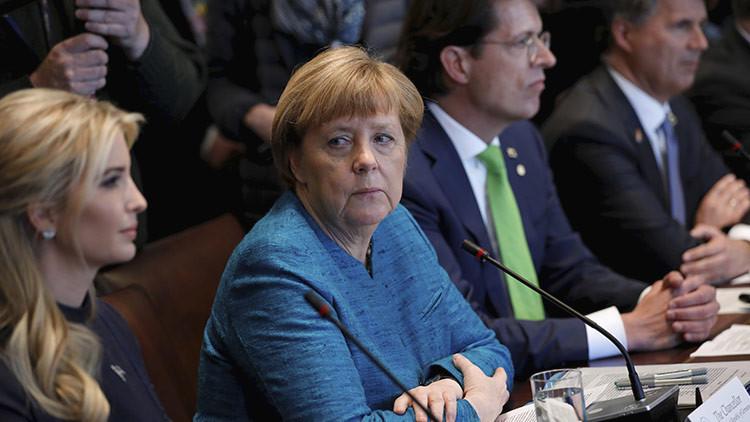 ¿Qué estás haciendo aquí?: No se pierdan las miradas de Merkel a Ivanka Trump (FOTOS)