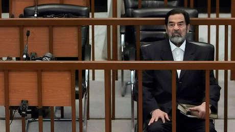 El expresidente de Irak, Saddam Hussein