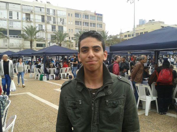 """Yosef: """"Queremos un sólo estado sin fronteras. Debemos vivir juntos""""."""