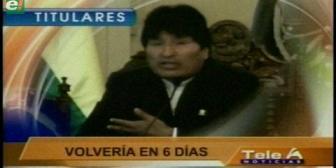 Video titulares de noticias de TV – Bolivia, noche del miércoles 29 de marzo de 2017