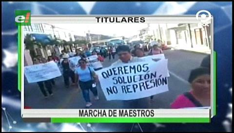 Video titulares de noticias de TV – Bolivia, noche del viernes 17 de marzo de 2017