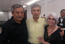 Rolando Arostegui, Guillermo Capobianco y Susana Seleme