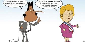 Caricaturas de Bolivia del viernes 24 de marzo de 2017