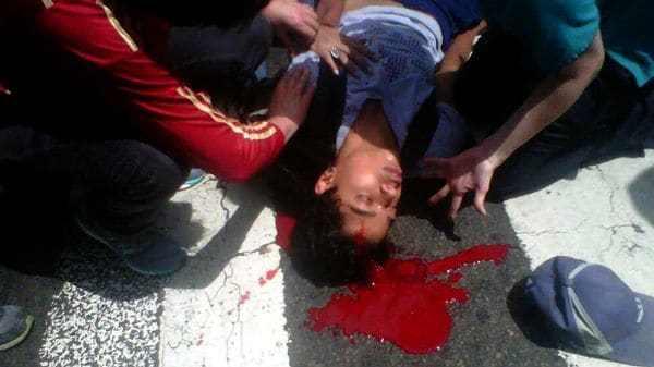 Carlos José Moreno, de 19 años, fue herido de gravedad y falleció en el hospital