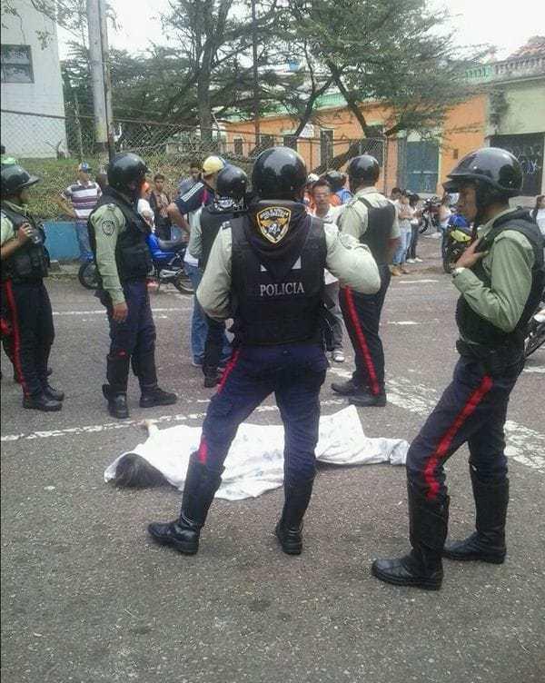 La Policía de Táchira custodia el cuerpo de Paola Andreína Ramírez Gómez