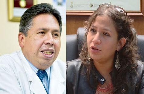 Luis Larrea y Ariana Campero