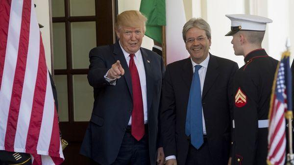 Trump y Gentiloni llamaron a Corea del Norte a terminar con las provocaciones (AFP)